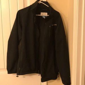 Men's Black Columbia Coat Omni-Shield